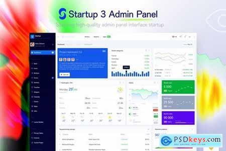 Startup 3 - Admin Panel