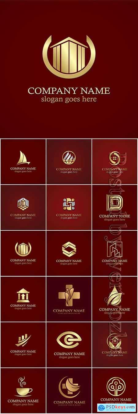 Company business logo in vector # 13