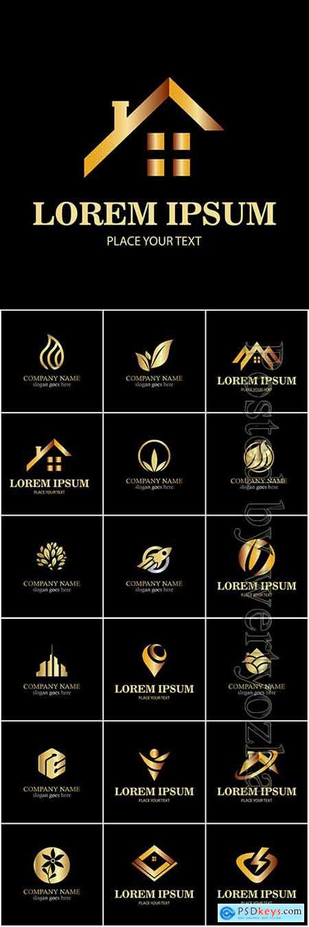 Company business logo in vector # 10