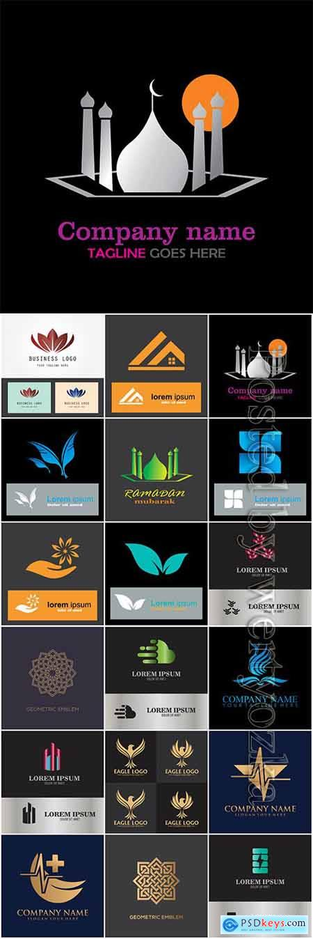 Company business logo in vector # 14