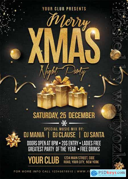 Christmas Party 2 - Premium flyer psd template