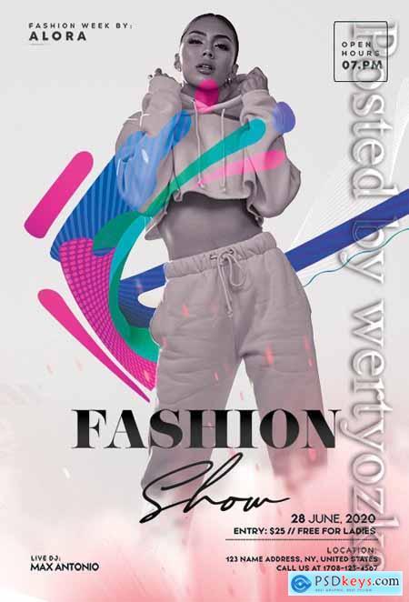 Fashion Runway - Premium flyer psd template