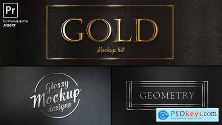 Videohive Gold Titles Kit 25267955