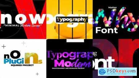 Videohive Minimal Typograpy Opener 23633981