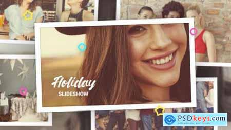 Videohive Holiday Photo Slideshow 25283382