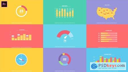 Videohive Flat Infographics Toolkit I MOGRT for Premiere Pro 25101720