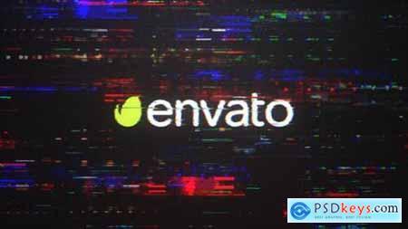 Videohive Digital Glitch Intro 23391865