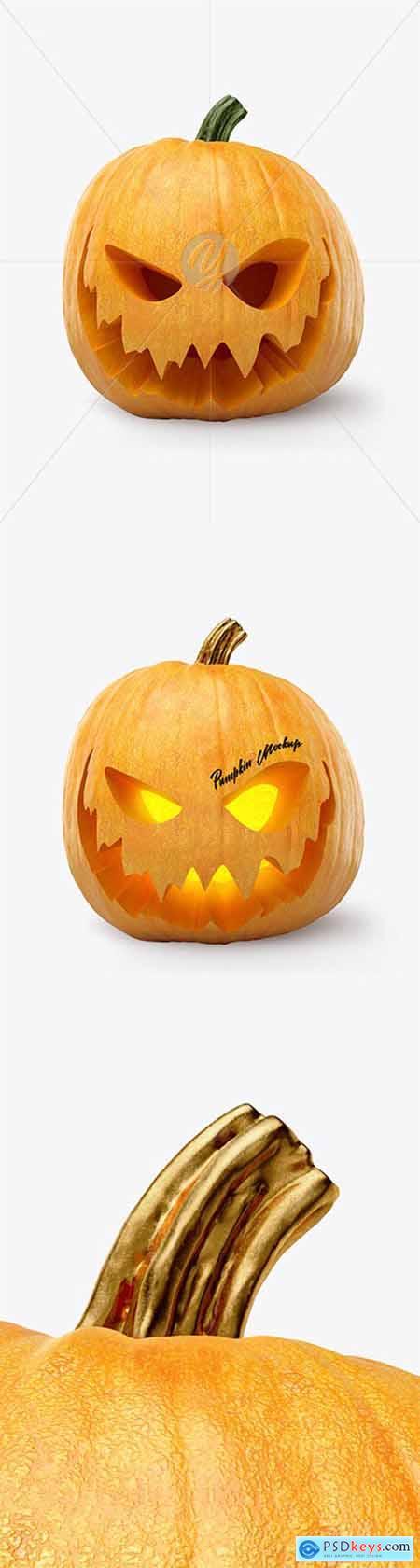 Pumpkin Mockup 50729