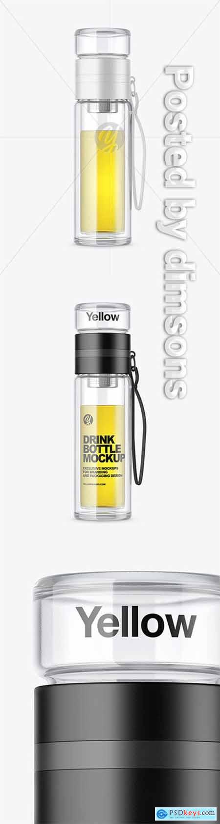 Glass Bottle Mockup 51514