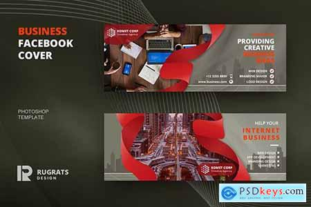 Business R9 Facebook Cover Template