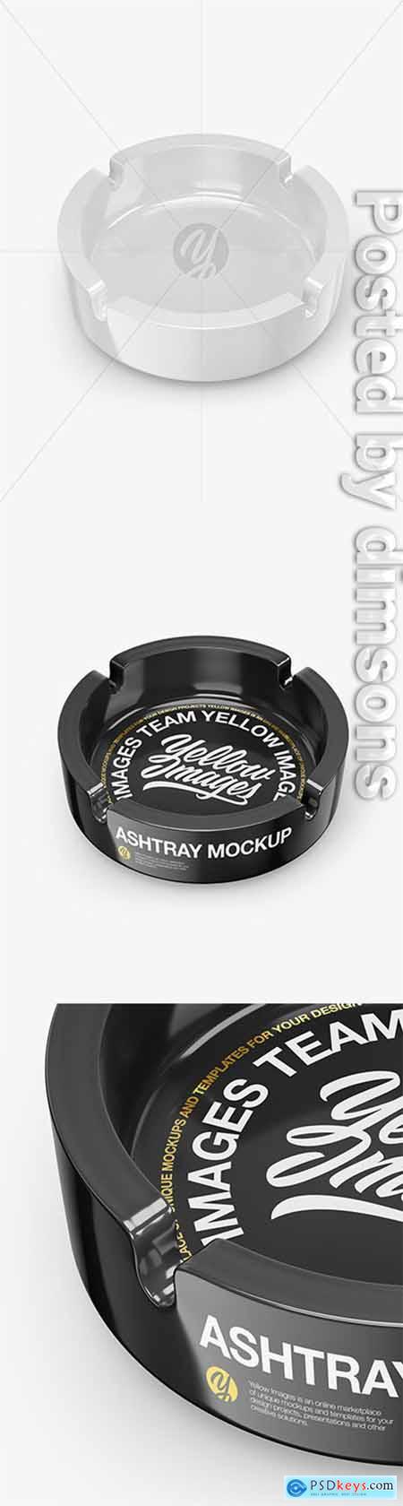 Glossy Ashtray Mockup 51322