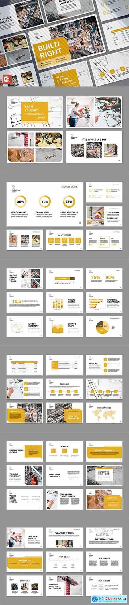 Construction Company PowerPoint Presentation