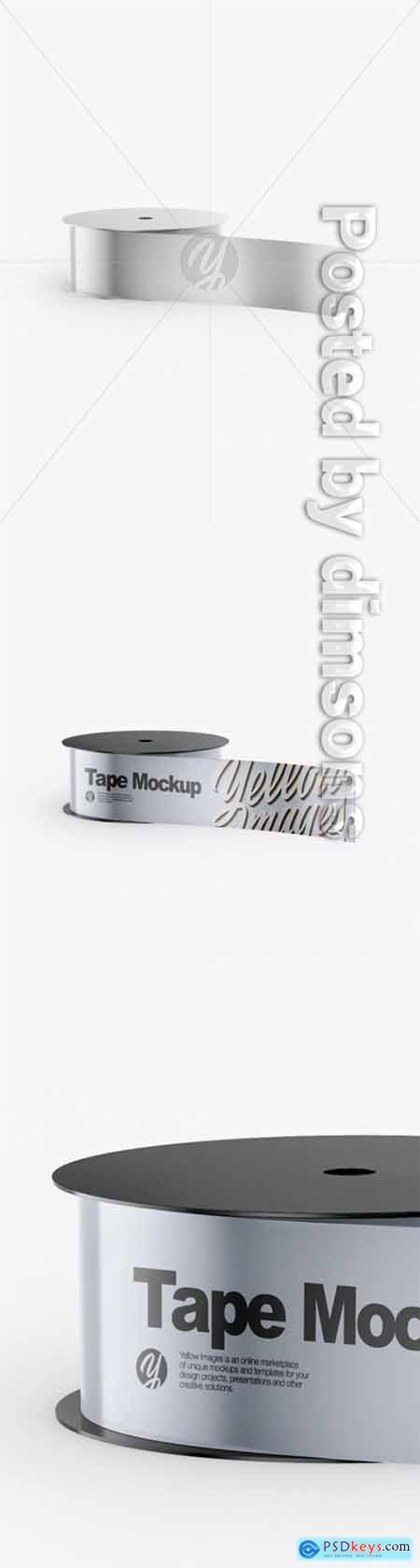 Metallic Tape Mockup 51279