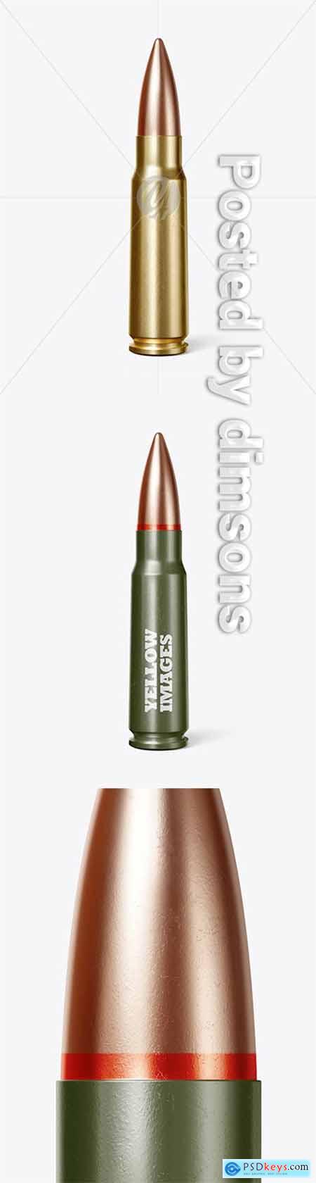 Bullet Mockup 51456