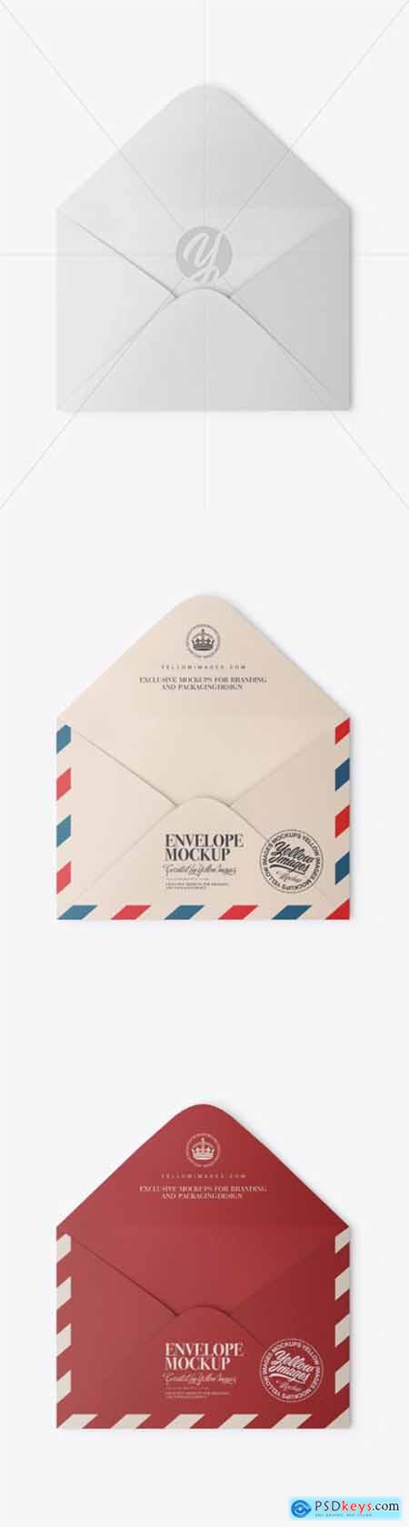 Textured Envelope Mockup 51076