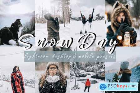 Vibrant SNOW DAY Lightroom Presets 4331998