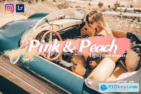 Pink&Peach Lightroom Presets XMP-DNG 4360454