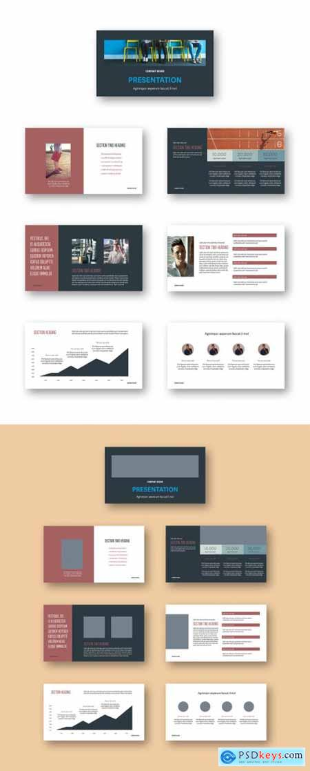 Pitch Deck Presentation Layout