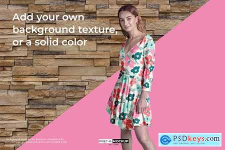 Sleeve Dress Mockup 4138048