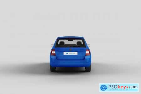 Car Mock-Up 7 4309536