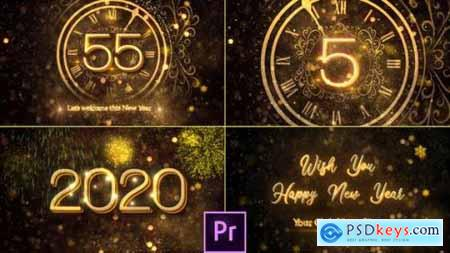 Videohive New Year Countdown 2020 Premiere Pro 25267703