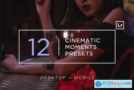 12 Cinematic Moments Lightroom Presets