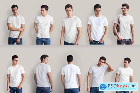 Isolated T-Shirt Mock-Up