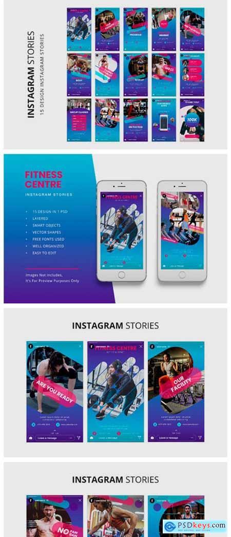 Fitness Instagram Stories 2274357