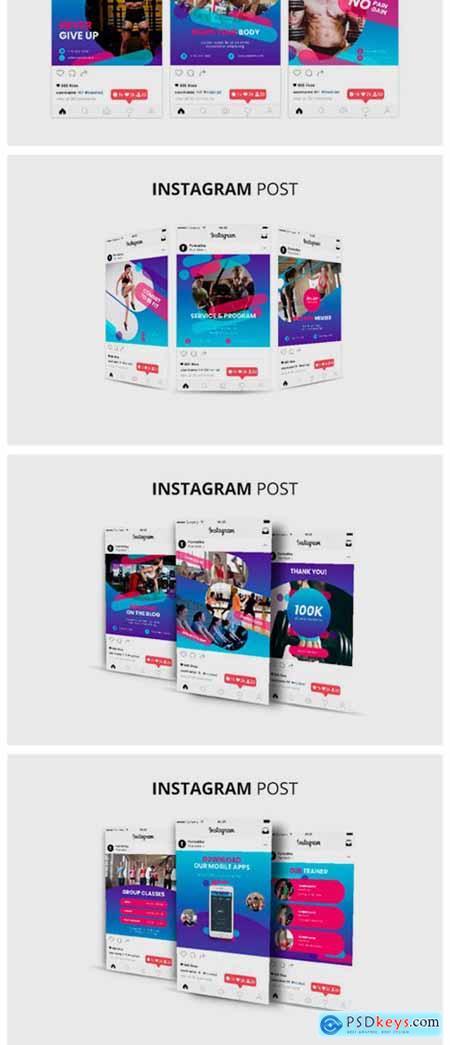 Fitness Instagram Post Banner 2274372