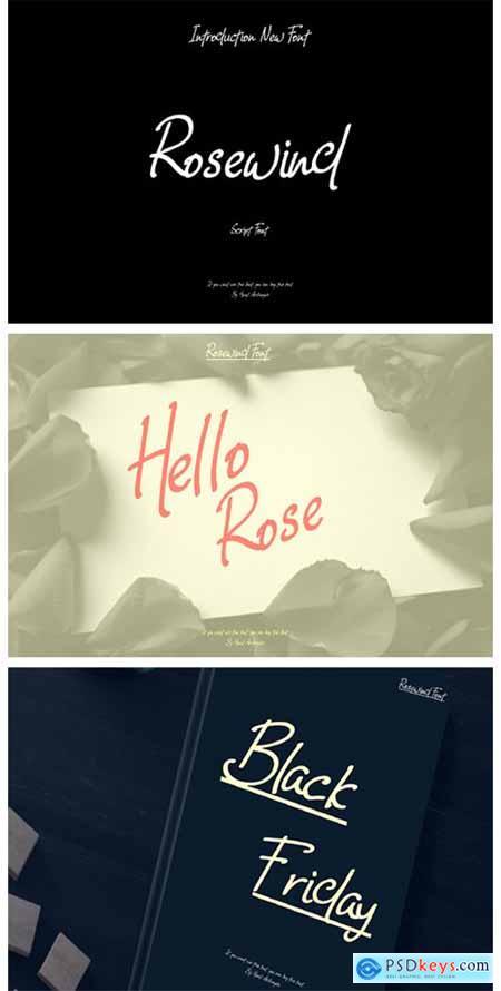 Rosewind Font