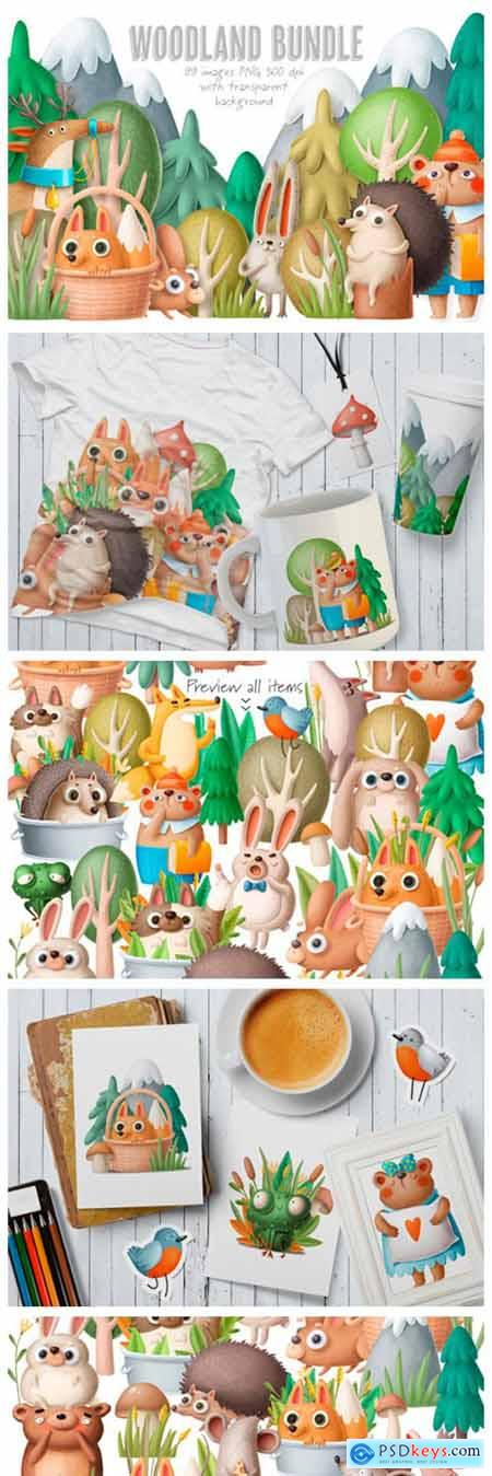 BIG Woodland Bundle 2261921