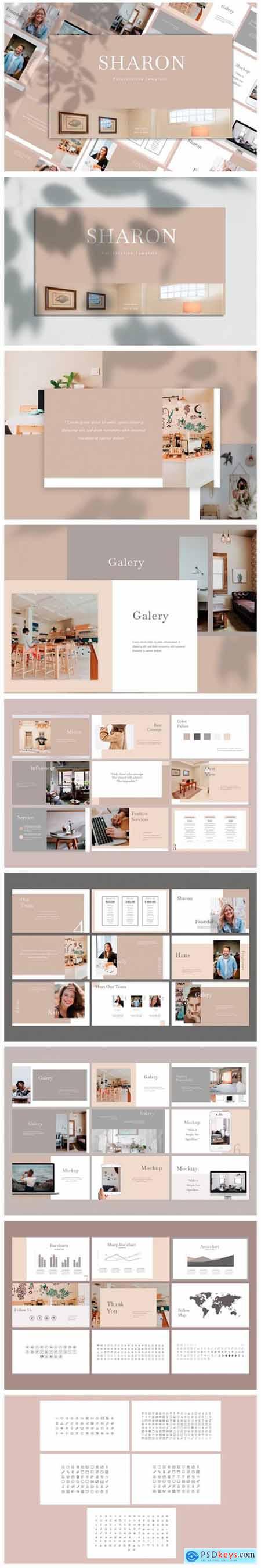 Sharon - PowerPoint Template 2276600