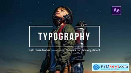 Videohive Typography After Effects 25289609
