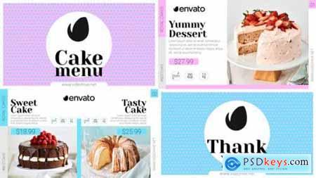 Videohive Elegant Cake Menu 25292460