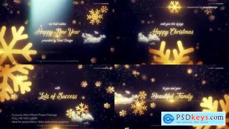 Videohive Merry Christmas Title 25262047