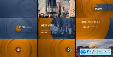 Videohive Circle Broadcast Pack 10935959