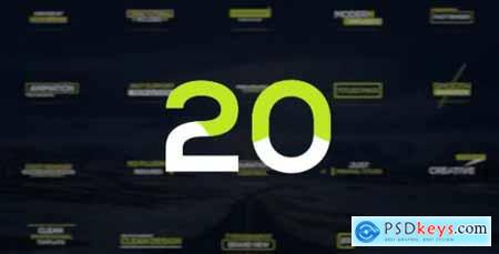 Videohive Minimal Titles v2 20376230
