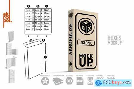 BUNDLE BOXES MOCK UP 4276657