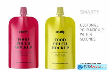 Food pouch mockup 4356914