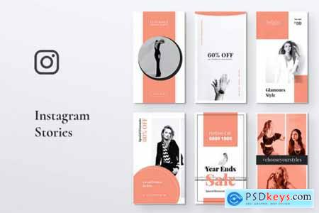 BRIGHT Fashion Instagram Stories