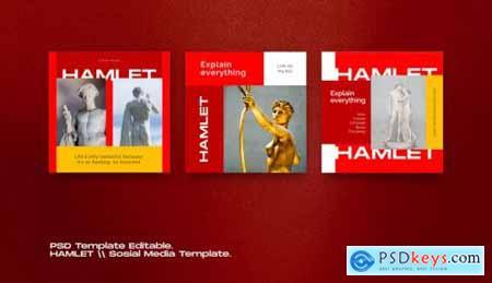 HAMLET PACK 2 - Instagram Template + Stories