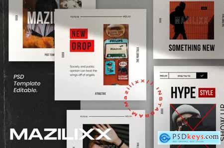 Mazilixx Pack 2 - Instagram Social Media + Stories