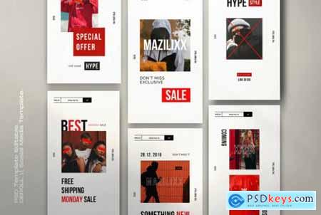 Mazilixx Pack 1 - Instagram Social Media + Stories