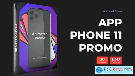 Videohive Phone 11 Pro Max Presentation App Promo Mockup 25257919