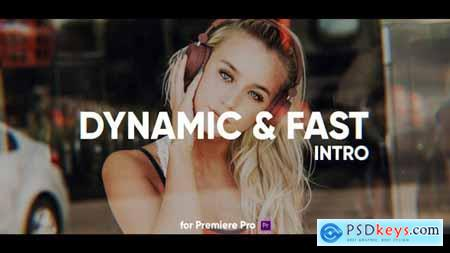 Videohive Dynamic Fast Intro for Premiere Pro 25237170