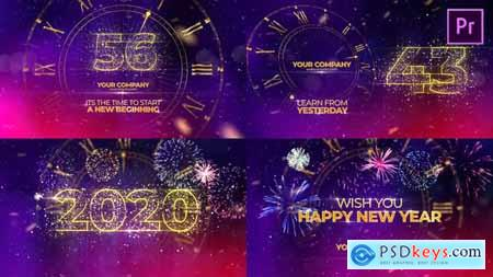 Videohive New Year Countdown 2020 Premiere Pro 25295409
