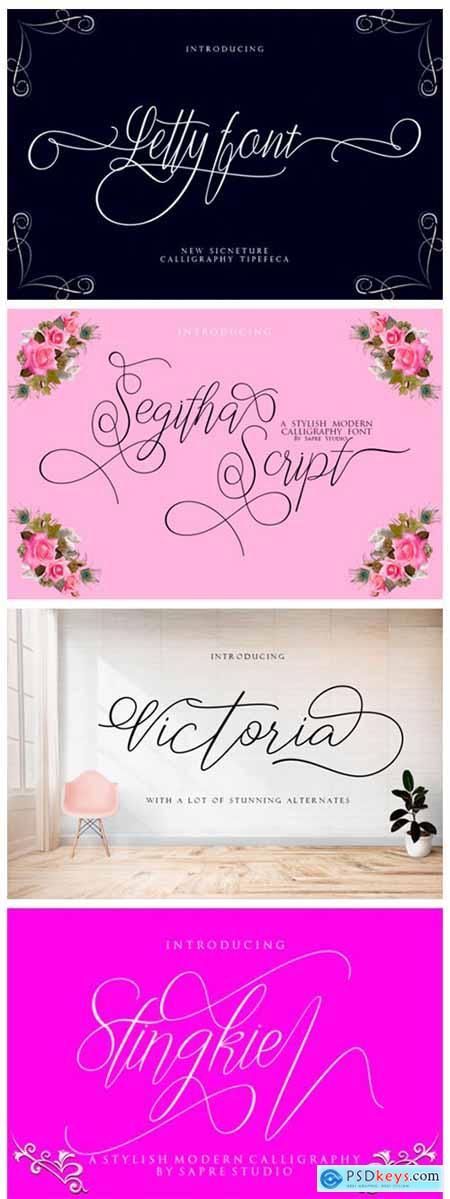 8 Enchanting Script Fonts