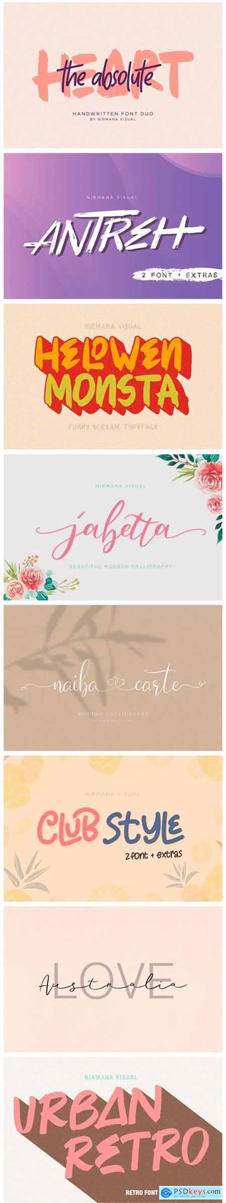 8 Gorgeous Fonts