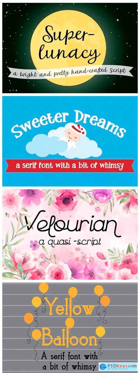 8 Whimsical Fonts