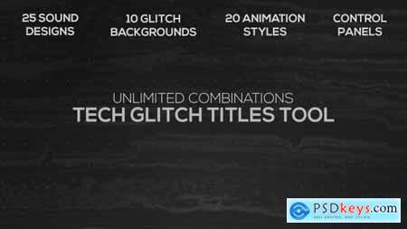 Videohive Tech Glitch Titles Tool 21498726